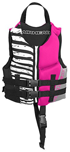 AIRHEAD WICKED Kwik-Dry Neolite Flex Vest, Hot Pink