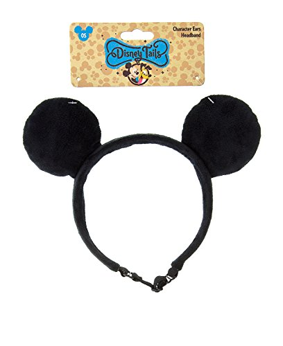 Theme Park Merchandise Mickey Mouse Ears for Dog Headband Pet Cat by Disney Tails]()
