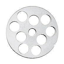 """TSM #10/12 Carbon Steel 3/4"""" Meat Grinder Plate"""