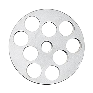 """TSM #10/12 Carbon Steel Meat Grinder Plate (3/4"""")"""