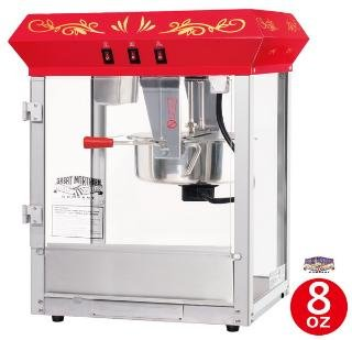 6100 Great Northern Popcorn Red Countertop Foundation Popcorn Popper Machine, 8 Ounce by Great Northern Popcorn Company (Image #1)