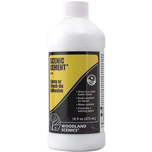 Scenic Cement (16 oz.) from Woodland Scenics