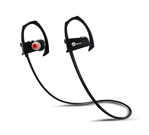 Wireless Bluetooth Headphones, Sweatproof in Ear Earbuds with Mic for Gym Running Workout