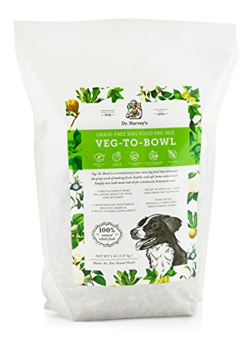 Dr. Harvey's Veg-To-Bowl Grain-free Dog Food Pre-Mix, 5 Pounds