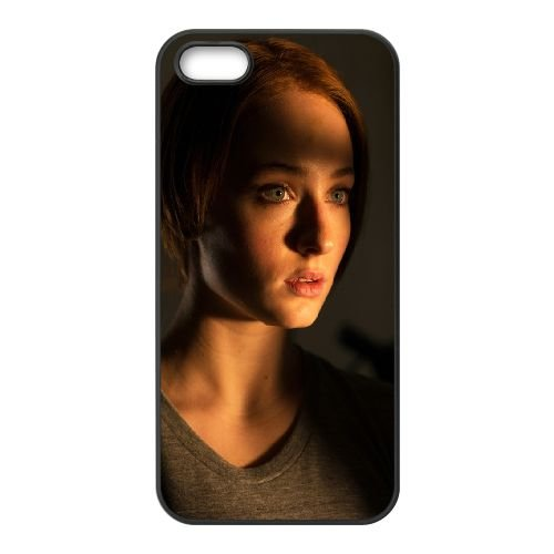 Another Me Sophie Turner Fay 100218 coque iPhone 5 5S cellulaire cas coque de téléphone cas téléphone cellulaire noir couvercle EOKXLLNCD21682