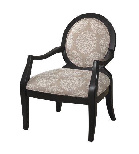 Powell Company Batik Framed Chair, Pearl - Oval Pearl Faux
