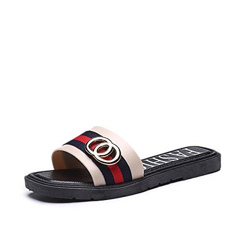 ZPPZZP Ms sandali confortevole e di stile minimalista leisure blu 40EU