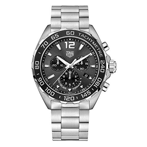 (Tag Heuer Formula 1 Chronograph Anthracite Dial Mens Watch CAZ1011.BA0842)