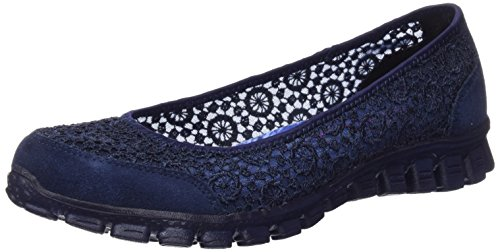 Skechers Ez Flex 2 Flighty Da Donna Slip On Ballet Navy 9