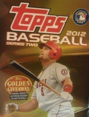 (2012 Topps Baseball Series 2 Hobby Box)