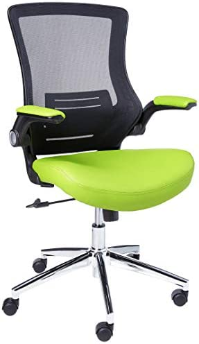 Office Star Bonded Leather Seat and Screen Back Manager's Chair