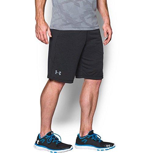 "UPC 889819353442, Under Armour Men's Raid Printed 10"" Shorts, Black/Black, Large"