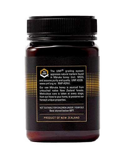 Manukora UMF 15+/MGO 500+ Raw Mānuka Honey (500g/1.1lb) Authentic Non-GMO New Zealand Honey, UMF & MGO Certified, Traceable from Hive to Hand by Manukora (Image #2)
