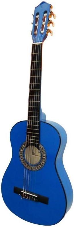 Guitarra rocio c7n (1/2) cadete 85 cms azul