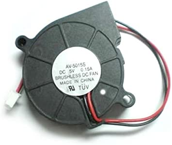 New 3D Printer Fan 5015 24V 0.10A Sleeve Bearing Brushless Fan centrifugal for Reprap i3 DC Cooling Fan Turbo fan 5015S