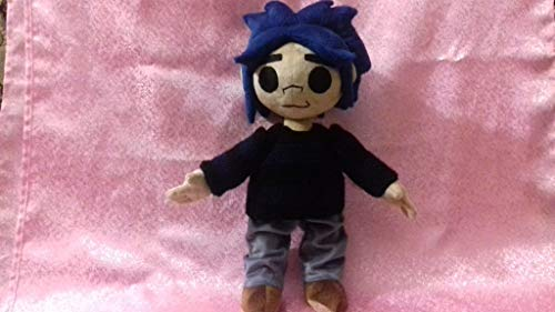 Inspired by Gorillaz plush, commissioned plush, stuffed custom toy, toy from music video