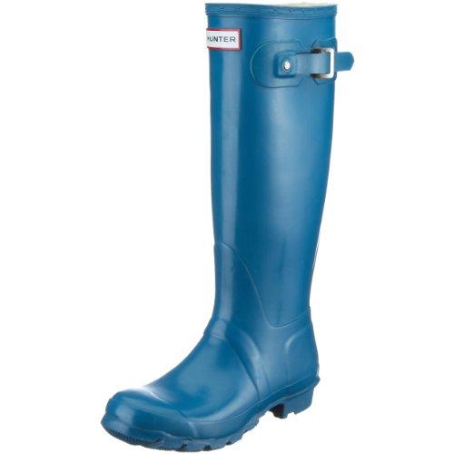 Gummistiefel Gloss Damen Teal W23616 Blau Hunter Original Tall Swq1X1