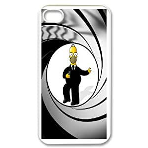 Homer Simpson's For iPhone 4,4S Phone Case & Custom Phone Case Cover R76A650553