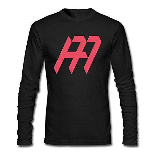 LALAYAY Men's Andy Murray Logo Long Sleeve T Shirts