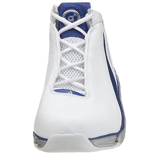 Scarpa Da Basket Adidas Uomo A3 Superstar Ultra 2, Bianca / Reale, 8 M