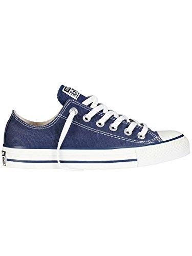 Converse All Star OX - Zapatillas de deporte de lona, unisex azul
