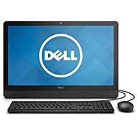 Newest Dell Inspiron 23.8 inch FHD IPS Flagship High Performance All-in-One Desktop | Intel Pentium N3700 | 8GB RAM | 500GB HDD | DVD+/-RW | Windows 10 | Wired Keyboard & Mouse