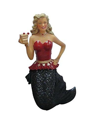December Diamonds Slot Queen Casino Glitter Mermaid Christmas Ornament (Casino Ornaments)