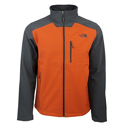 The North Face Men's Apex Bionic 2 Jacket (XX-Large, Tibetan Orange/Asphalt Grey) (Face North Outlet Clothing)