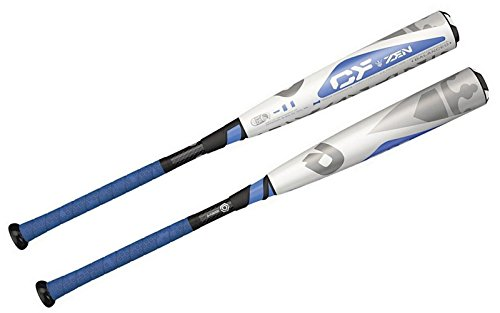 DeMarini CF Jr Big Barrel -11 Drop 2 3/4' Baseball Bat, White/Blue, 26'/15 oz