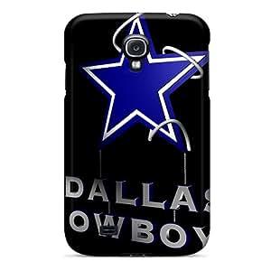LauraAdamicska Samsung Galaxy S4 High Quality Hard Cell-phone Cases Support Personal Customs High Resolution Dallas Cowboys Pattern [TZd10147raYI]