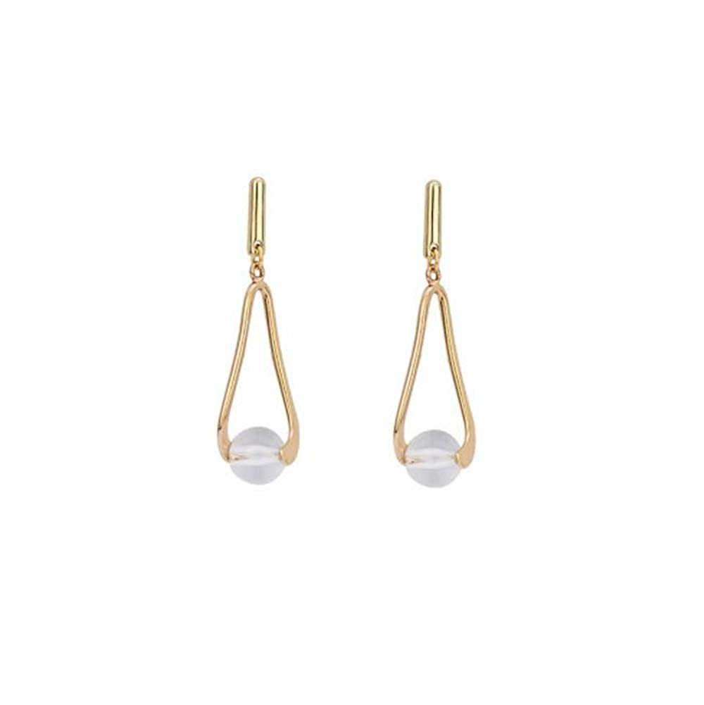 S925 Silver Dangle Drop Stud Earrings for Women Girl Gift