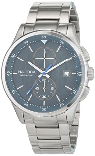 Nautica-Mens-NCT-19-Quartz-Stainless-Steel-Casual-Watch-ColorSilver-Toned-Model-NAD19554G
