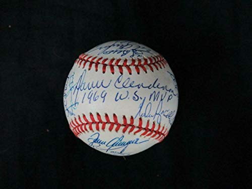 (31) 1969 New York Mets Team-Signed Baseball Autograph Auto AF04845 - PSA/DNA Certified - Autographed Baseballs