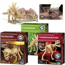 Kidz Lab Dinosaur Excavation Dig Kits - Gift