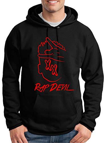 MGK Red Rap Devil XX Black Hoodie