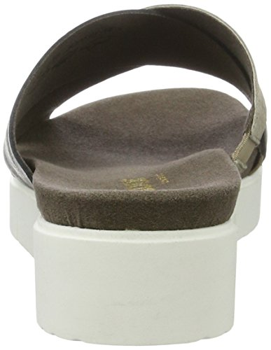 Shoes Gabor Sandalias Cuña con Comfort 32 para Mujer Koala A Marrón Silber ZwUwqBdT