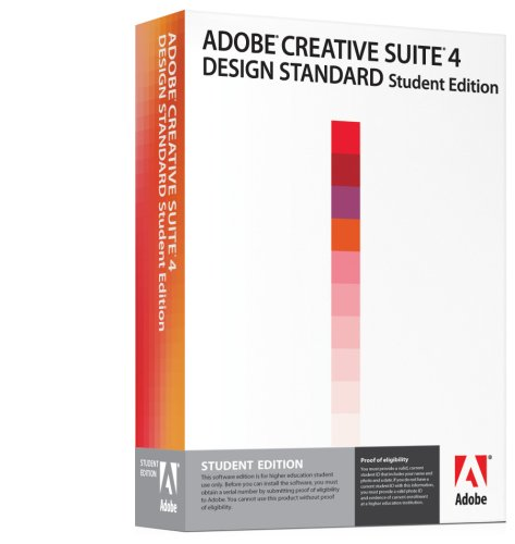 Adobe Creative Suite 4 Design Standard Student Edition [OLD VERSION]