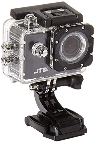 (JTD J-EXP 2.0 Premium Sport DV Action Camera 12MP 1080P 170 Degree Angle Anti-Glare Coating Lens Sport Camera Waterproof Cam DV Camcorder Outdoor for Bicycle Motorcycle Diving Swimming (Black))