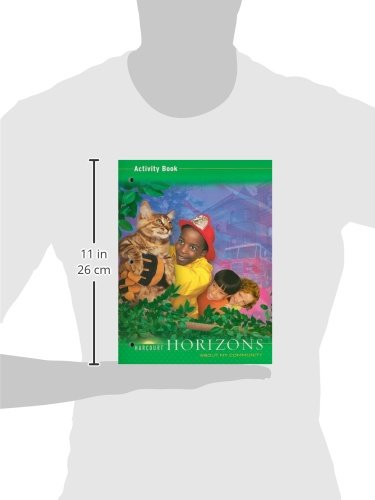 Harcourt horizons activity book grade 2 about my community harcourt horizons activity book grade 2 about my community harcourt school publishers 9780153402937 amazon books fandeluxe Images