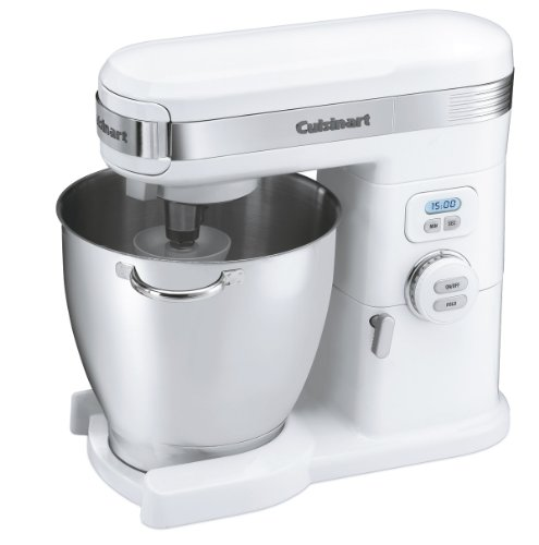 Cuisinart SM-70 7-Quart 12-Speed Stand Mixer, White by Cuisinart