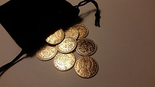 Byzantine Basil II Nomismata Replica coins for Historical Reenactors and collectors - Historical Coins