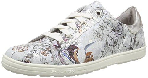 s.Oliver 23614 Damen Sneakers Silber (SILVER 941)