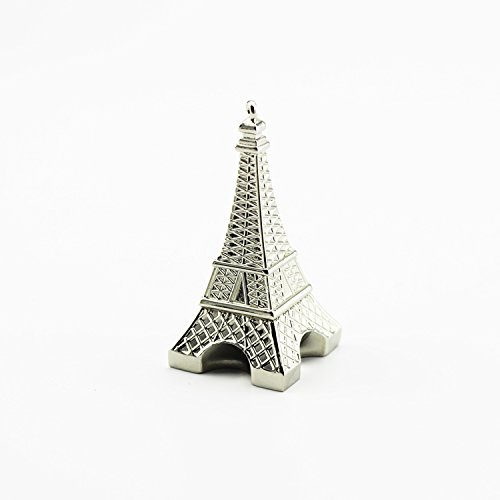D-CLICK TM High Quality 4GB/8GB/16GB/32GB/64GB/Cool USB High speed Flash Memory Stick Pen Drive Disk (64GB, Silver Metal  Eiffel Tower) (Tower Pendrive Eiffel)