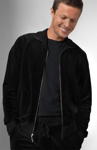 Juicy Couture Men S Basic Velour Track Suit Jacket And Pants Blackchoose Type Jacketsize S At Amazon Men S Clothing Store Athletic Warm Up And Track Jackets