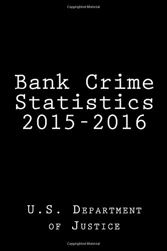 Bank Crime Statistics 2015-2016 ebook
