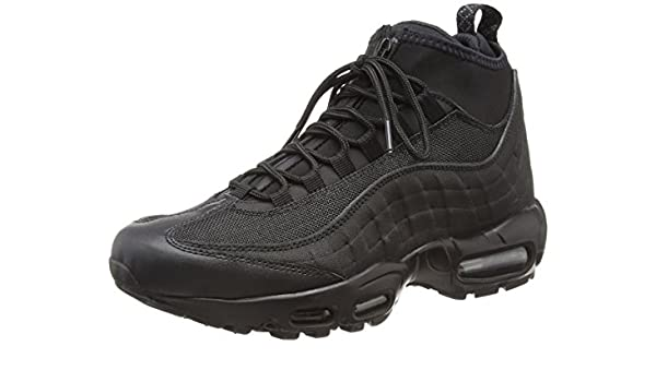 new concept a5a2b 12349 Nike AIR MAX 95 SNEAKERBOOT mens running-shoes 806809-002 7.5 - Black Black   NIKE  Amazon.ca  Shoes   Handbags