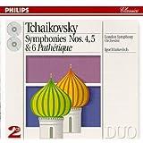 Tchaikovsky: Symphonies Nos 4,5 &6 Pathétique