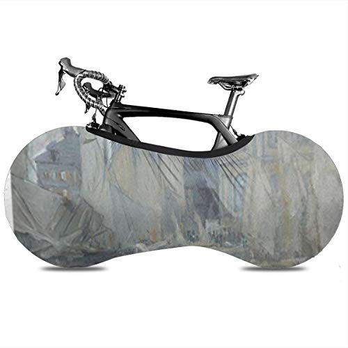 CDyantong Bicycle Wheel Cover, Washable Dustproof Bike Storage Bag, Durable Scratch-Proof Protect Gear Tire Bike Cover - Havre Museum