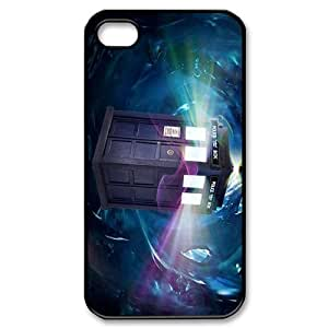 2015 Hot Tardis Doctor Dr Who Police Box Hard Back Case Cover For Iphone 4 4S case cover TPUKO-Q792496