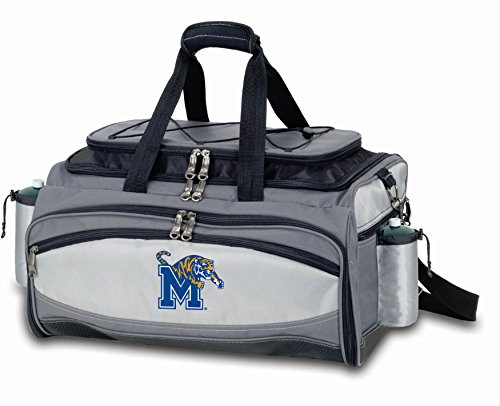 PICNIC TIME NCAA Memphis Tigers Embroidered Vulcan Set, One Size, Black ()